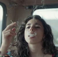 抽烟头像伤感图片