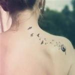 女生部位纹身头像图片,好看的女生身体部位纹身图片头像精选