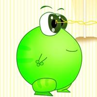 可爱绿豆蛙图片头像
