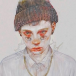 男生病娇动漫头像 有点恐怖的二次元病娇男头像图片