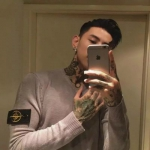 社会纹身男生头像 高清好看的帅气社会头像男生带纹身