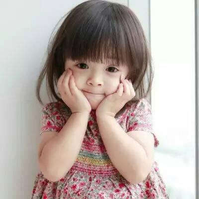 超呆萌可爱女孩高清好看的呆萌可爱小女孩超级萌 女生头像 美头网