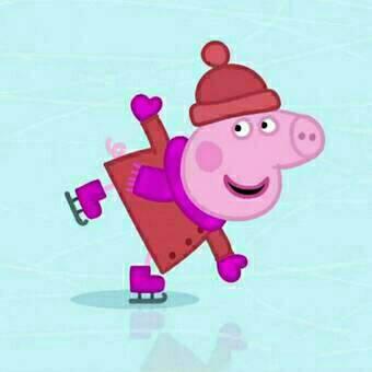 小猪佩奇卡通情侣头像 高清小猪佩奇情侣头像一对