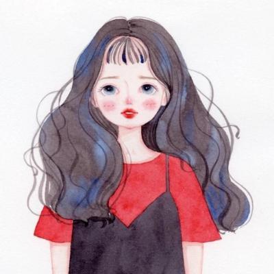 头像微信女生简单气质手绘