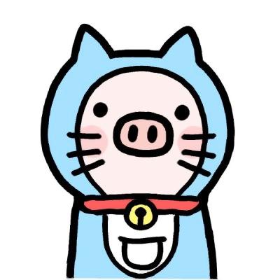 猪头像可爱头像图片大全