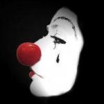小丑哭泣图片头像 伤感哭泣的小丑绝望头像图片