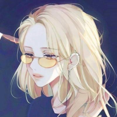 qq头像女生动漫冷酷帅
