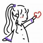 创意简笔画情侣头像图片 高清创意的情侣简笔画可爱头像一男一女