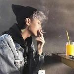 qq头像男生霸气超拽酷抽烟 社会男抽烟酷味十足