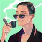 成熟霸气抽烟的动漫男生头像图片大全