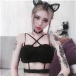 花臂女神头像 霸气社会的女生头像纹身霸气冷酷图片