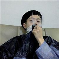 伤感图片男生抽烟喝酒头像