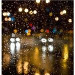 微信头像雨滴 玻璃上唯美的雨滴伤感头像图片