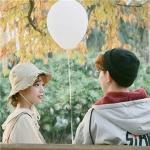 情侣头像双人背影 高清好看的情头双人同框背影图片