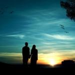 情侣照片背影牵手头像 唯美好看的情侣背影图片牵手头像