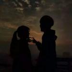 甜蜜小清新情侣头像两张图片 一起来感受爱情旋风