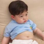 小男孩可爱头像呆萌 高清有点小胖的可爱男孩头像超萌图片