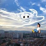 创意天空头像 真实天空中的创意风景画图片头像