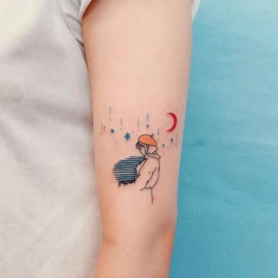 简约可爱小纹身头像