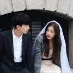 真人韩系唯美情侣头像一对两张图片 韩风潮流情侣高调又甜蜜