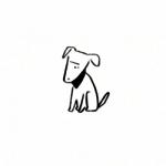 简约线条头像,高清可爱搞怪的卡通手绘线条头像图片