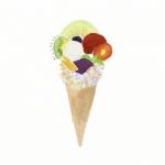 卡通冰淇淋头像 高清手绘的冰淇淋图片头像
