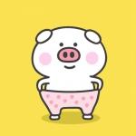 猪猪头像萌萌的图片 高清超萌的动漫猪猪头像可爱图片