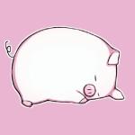 高清卡通的可爱猪图片头像