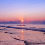 夕阳头像高清 超唯美的夕阳风景头像图片