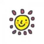 卡通小太阳笑脸头像 高清可爱的萌系小太阳卡通头像图片