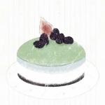 抹茶味绿色甜点图片头像 超清新超甜