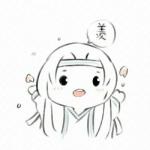 魔道祖师简笔画手绘头像 高清可爱的魔道祖师q版简笔画图片头像