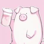 可爱猪qq头像图片 高清超萌的卡通猪猪图片头像