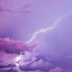 微信天空头像 高清唯美紫色系天空图片头像