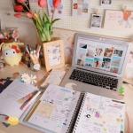 学习书桌图片头像 超清唯美的书桌