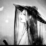 动漫古风头像黑白伤感 超清好看的伤感古风淡雅图片头像