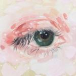 手绘眼睛头像 高清唯美的单只眼睛部位头像图片