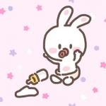 小白兔微信头像图片,高清很可爱的小兔子头像