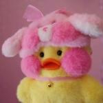 小黄鸭头像抖音,高清呆萌的抖音小黄鸭头像图片