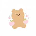 微信卡通小熊头像,高清超萌可爱的小熊q版头像图片