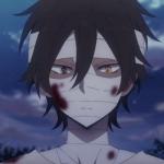 男生头部受伤流血的头像
