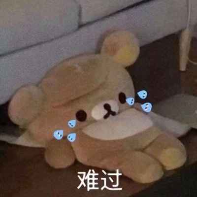 伤感公仔熊头像图片
