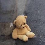 伤感公仔熊头像图片,高清伤心的毛绒小熊公仔头像
