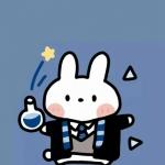 动漫兔子的微信头像,高清可爱的兔子卡通微信头像图片