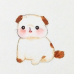 猫咪头像可爱手绘,高清可爱萌萌哒手绘的卡通猫咪头像图片