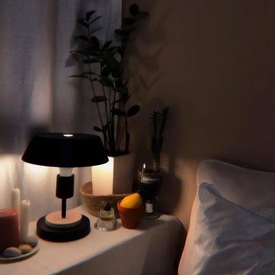 夜晚房间温馨照片头像