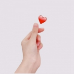 高清有创意的表白爱心手势图片头像