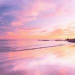 沙滩海边风景微信头像 高清唯美的大海吉祥风景头像图片