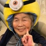 搞怪老奶奶头像 天真充满童趣的老太婆头像真人图片