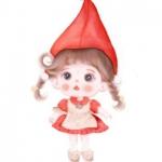 手绘萌娃头像 高清可爱的可爱手绘萌娃头像图片